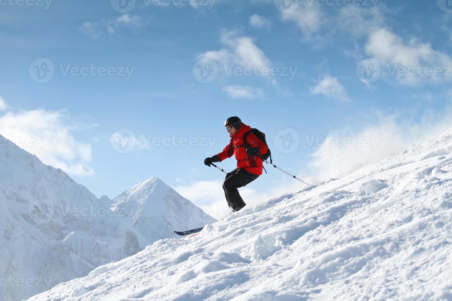 montaña freeride foto