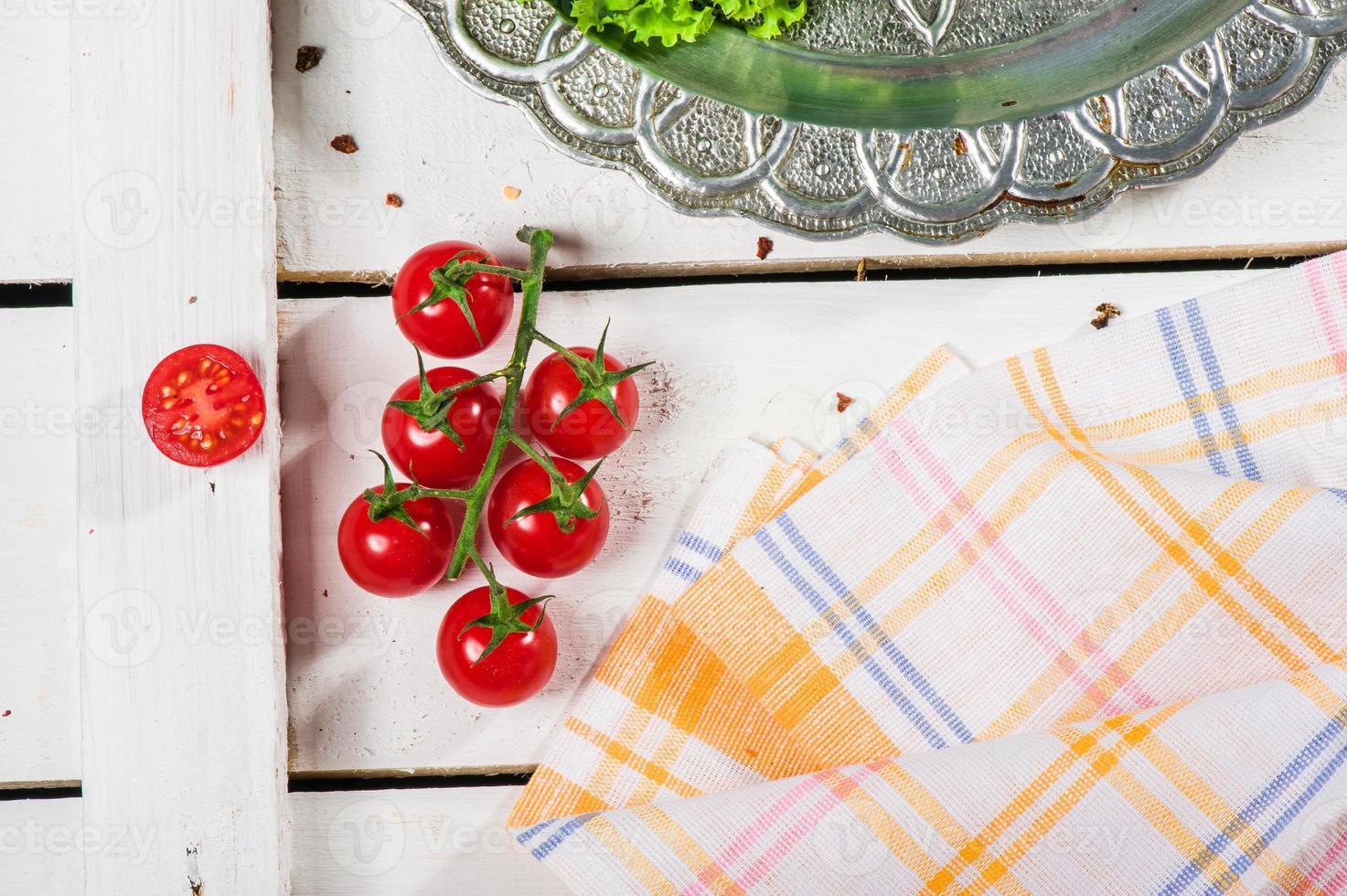 ramita de tomate foto