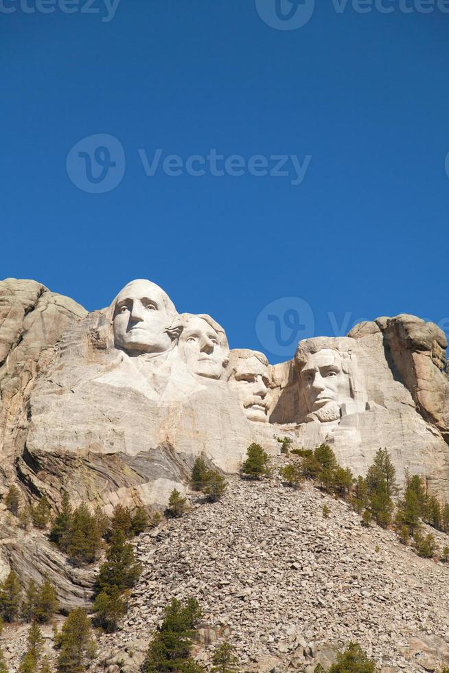 Monte Rushmore monumento en Dakota del Sur foto