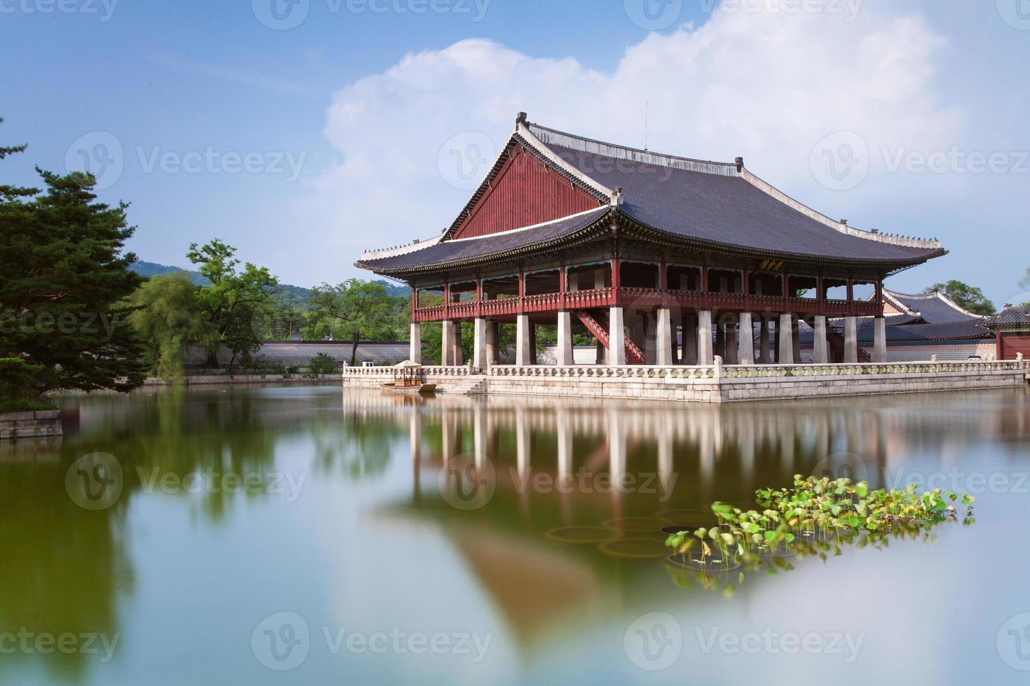Palacio Gyeongbokgung, Seúl, Corea del Sur. foto