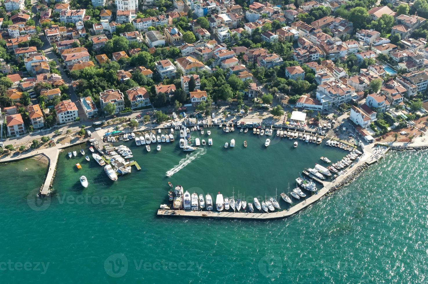 Istanbul aerial photography photo