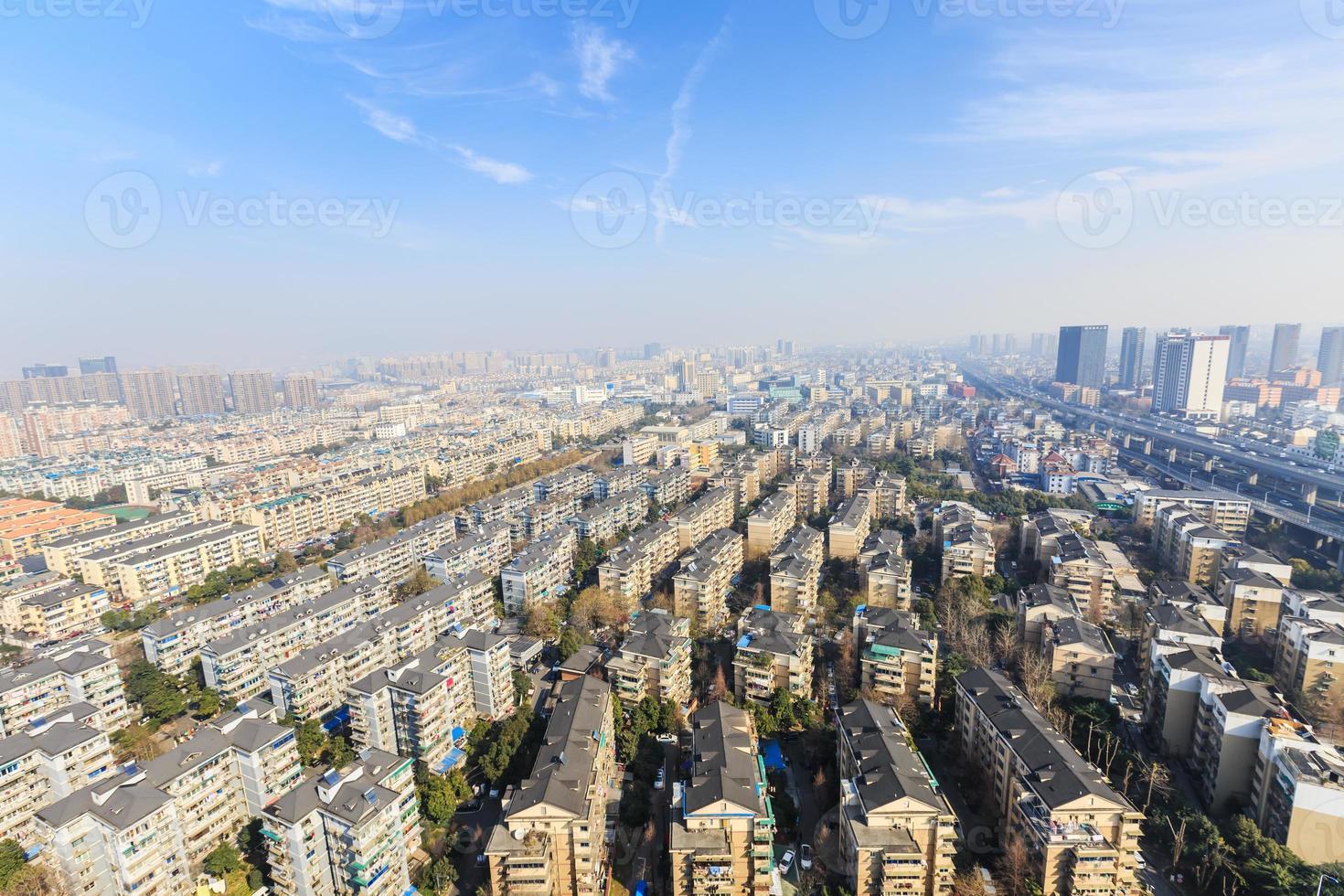 Hangzhou zonas residenciales urbanas paisaje foto