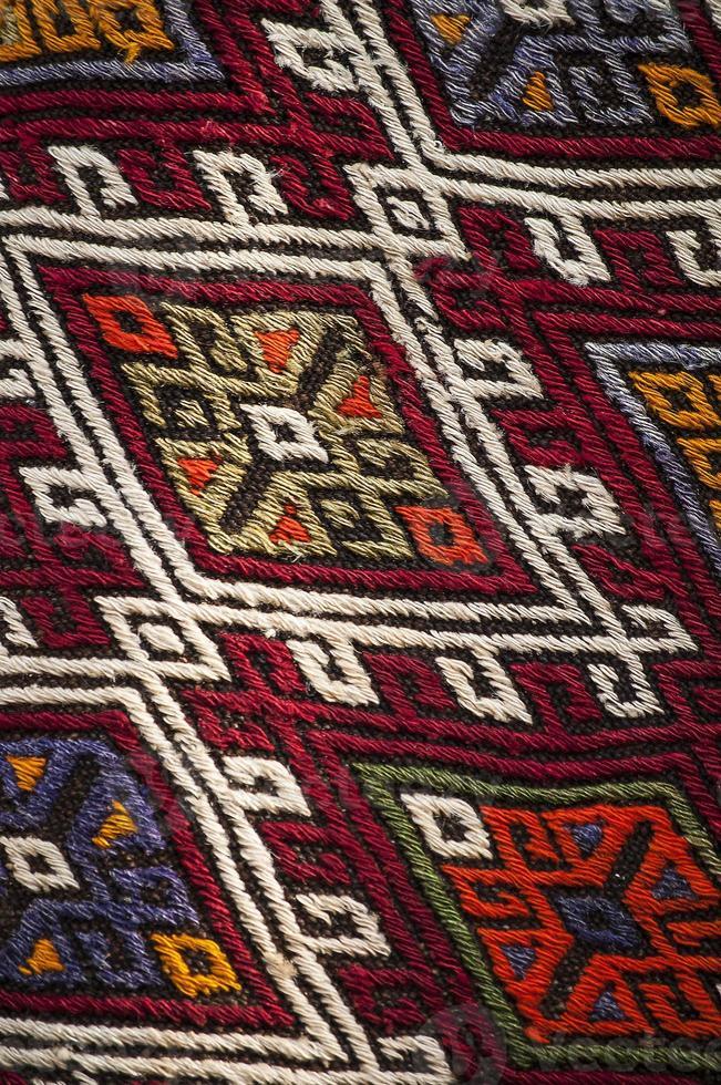 alfombra turca foto