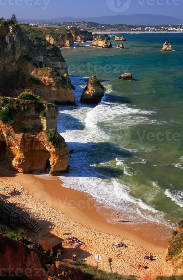 Ponta de Piedade in Lagos, Algarve region, Portugal photo