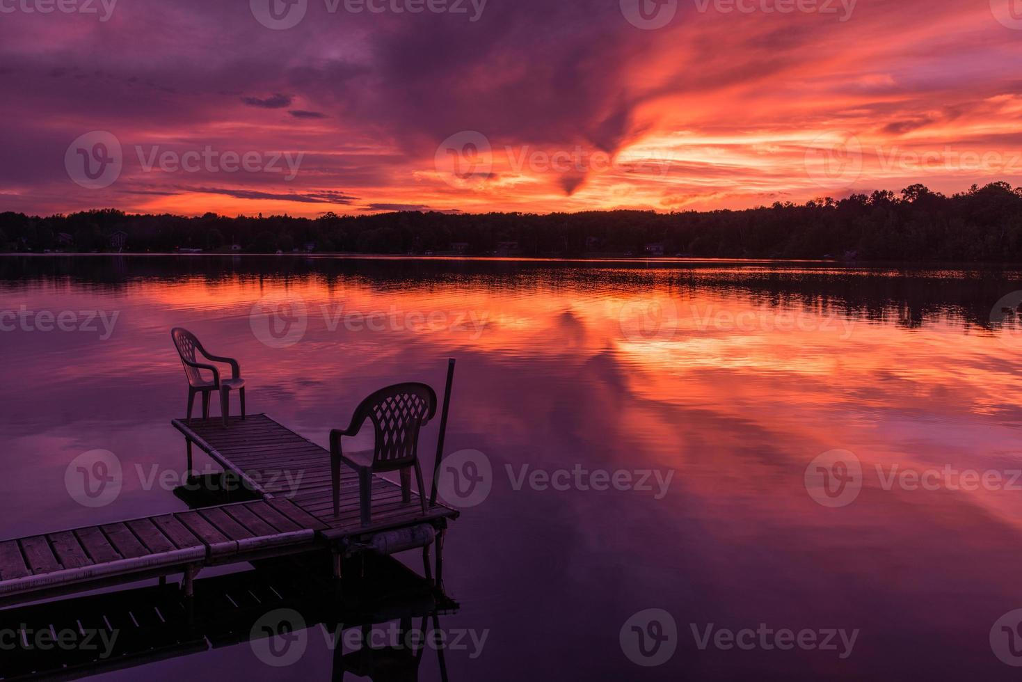 Northern Minnesota Sunset photo