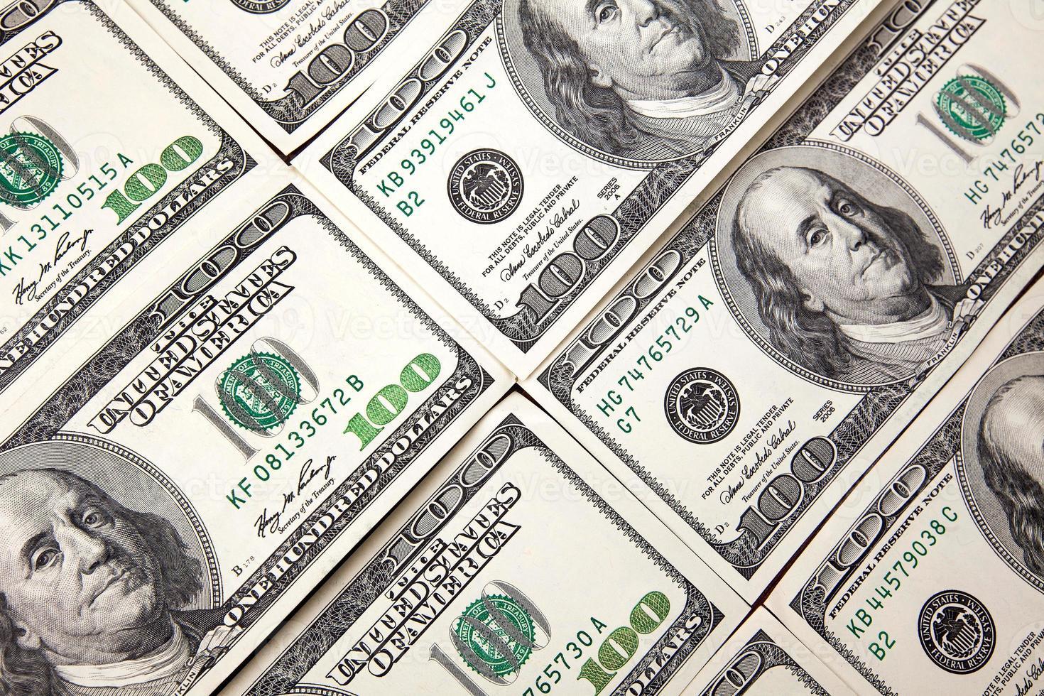 Background with money photo