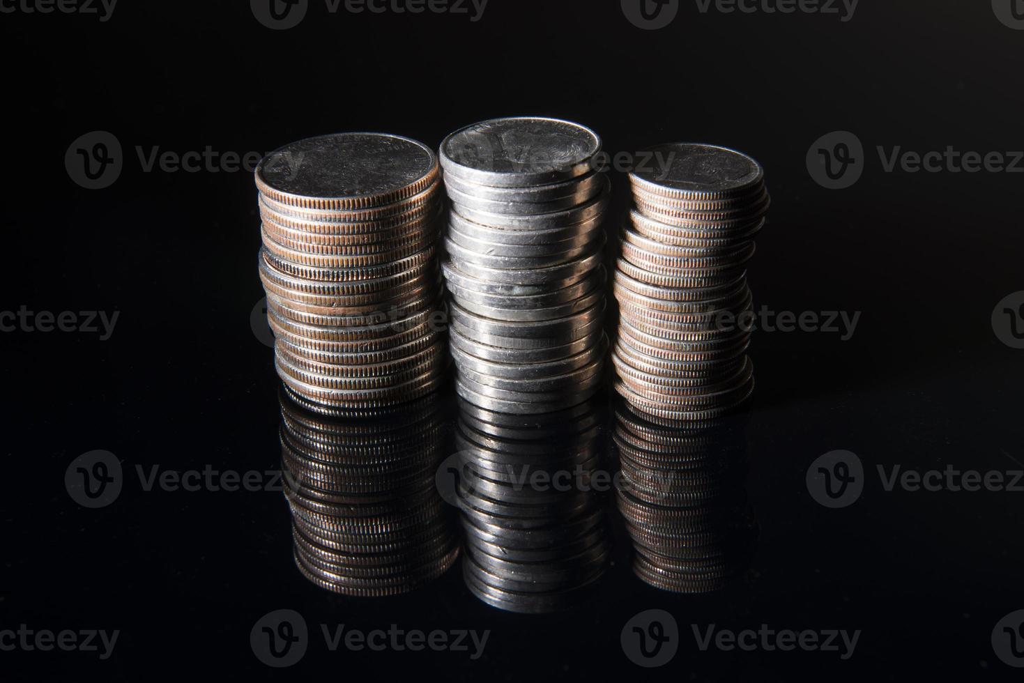 montones de dinero locos foto