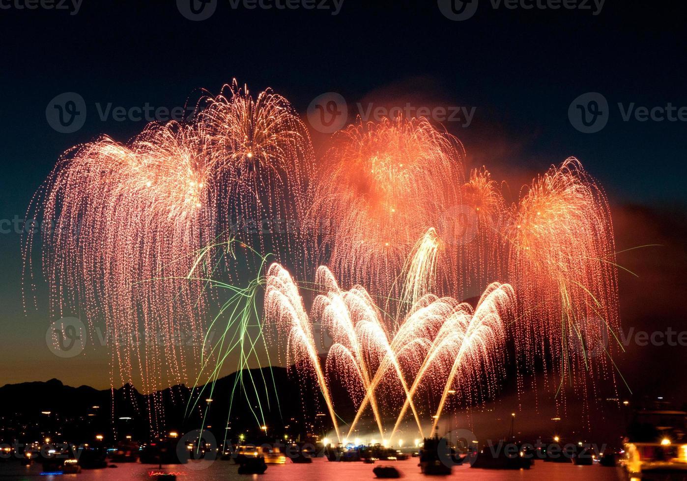 fuegos artificiales foto