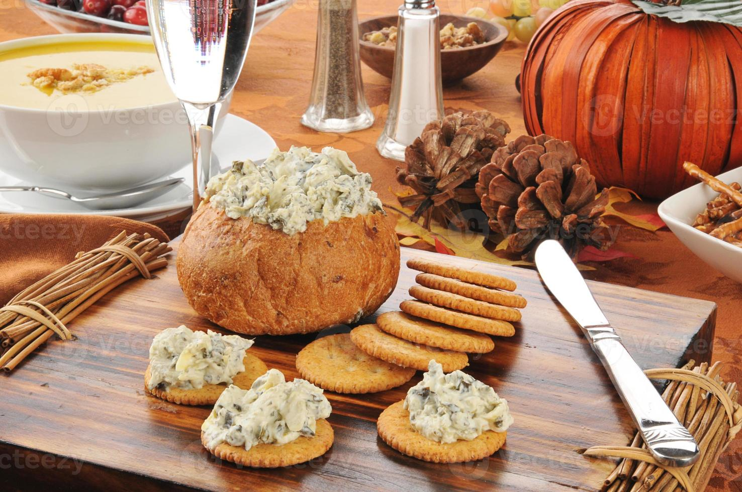 comidas festivas foto