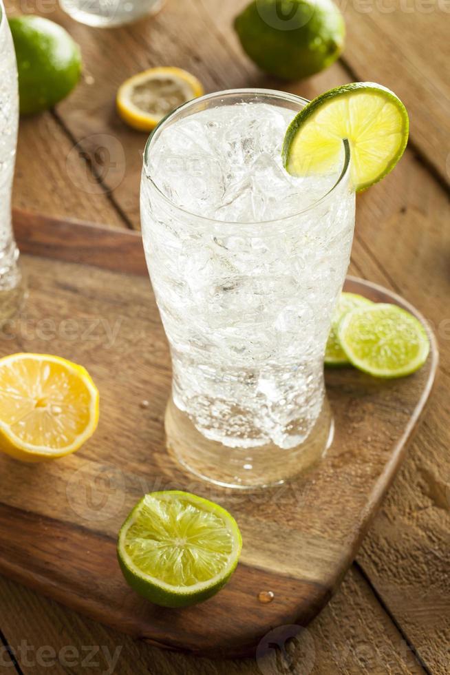 Refreshing Lemon and Lime Soda photo
