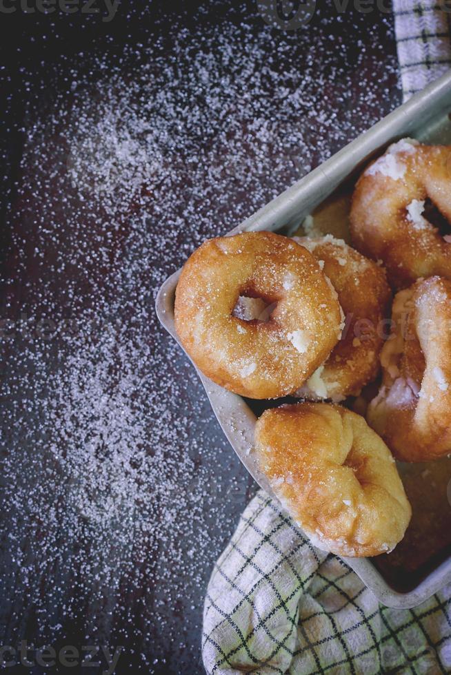 Homemade donuts photo