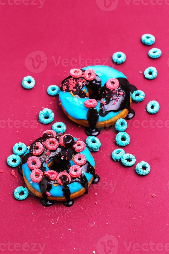 Yummy donuts photo