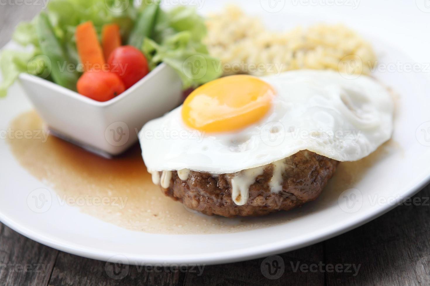 hambúrguer, hambúrguer japonês foto
