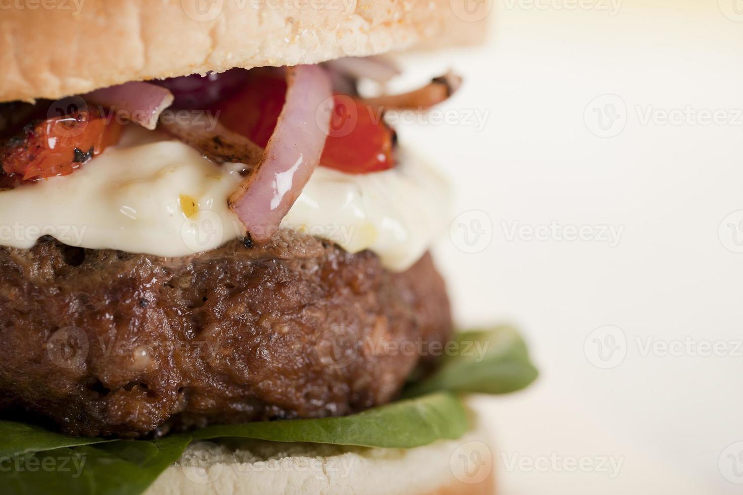 deliciosa hamburguesa foto