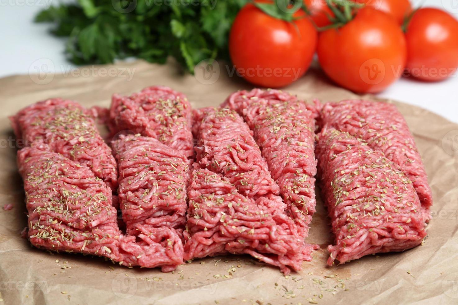 carne picada foto