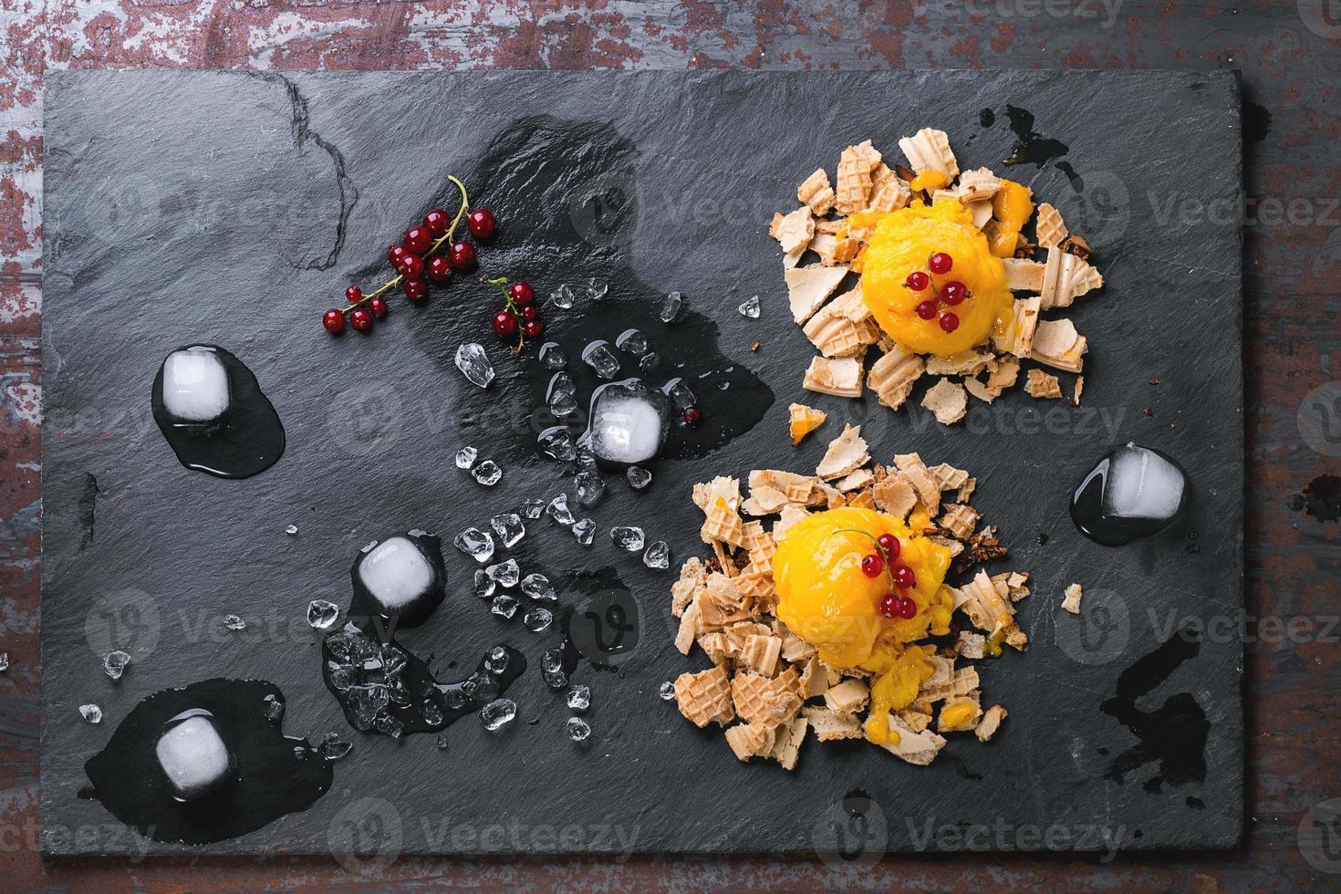Sorbete de mango foto