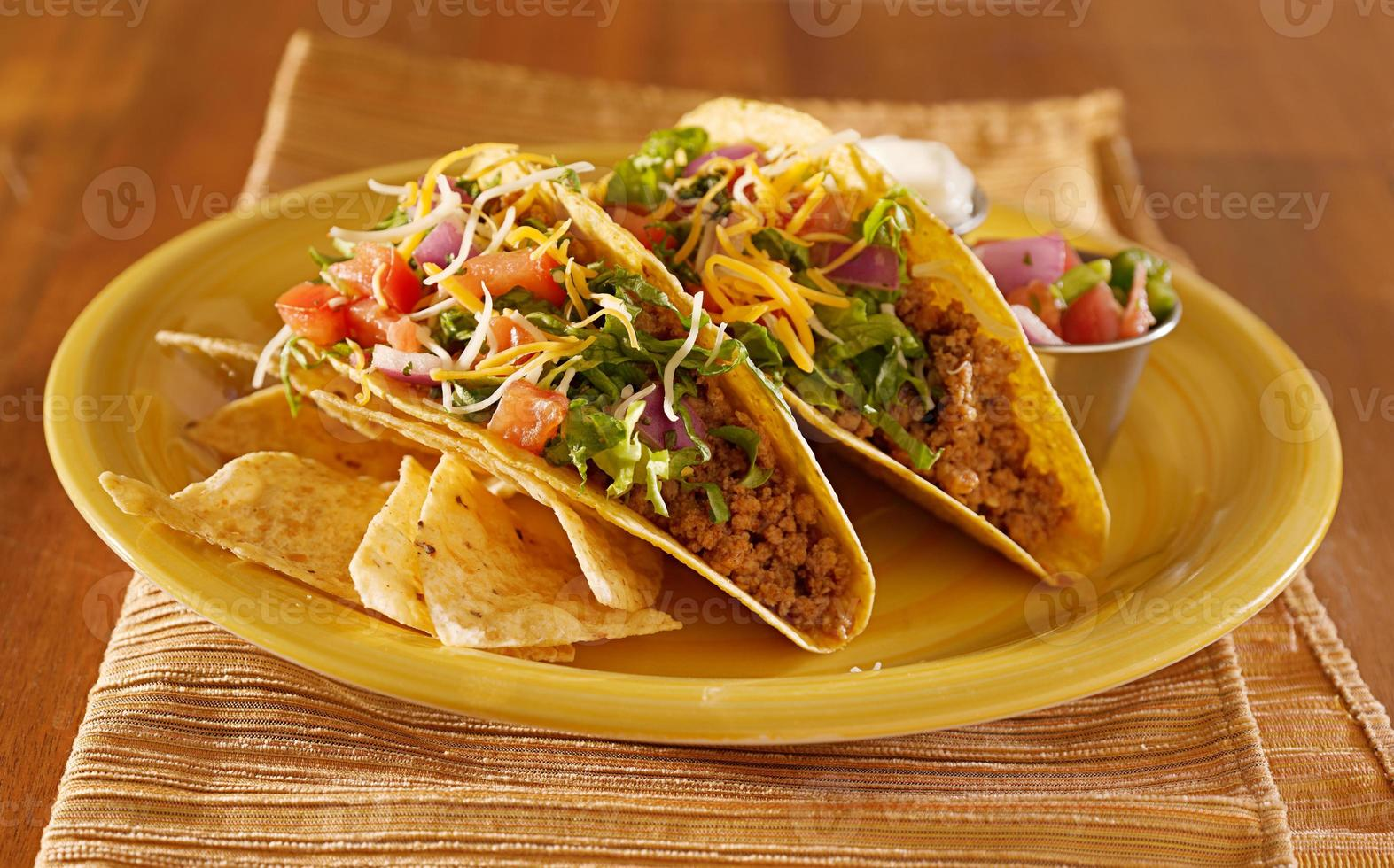 mexican beef tacos photo