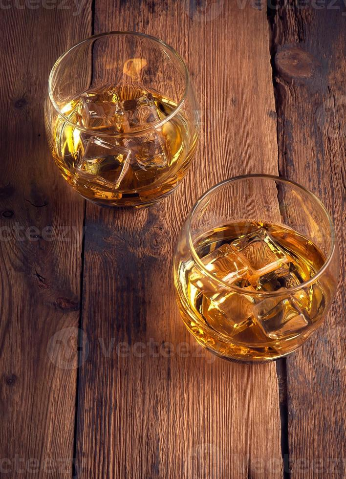 Whiskey Bourbon in a Glass photo