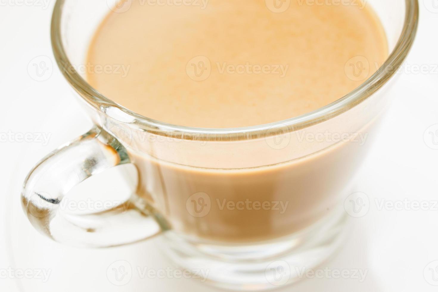 Milk coffee photo