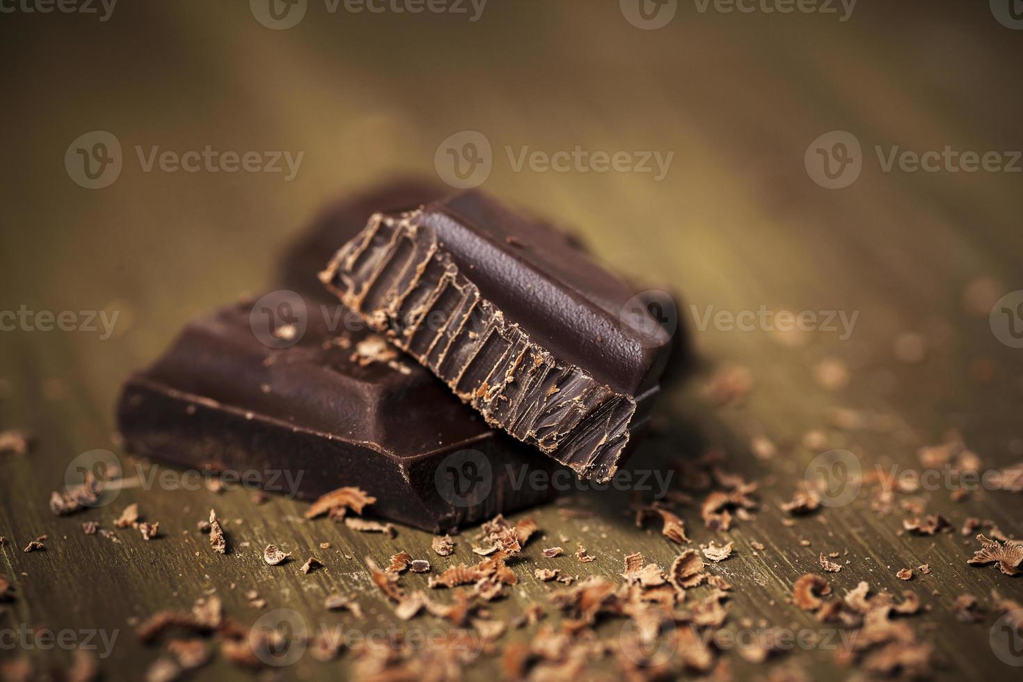 chocolate negro belga foto