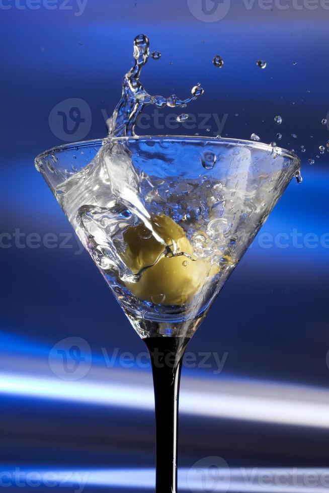 Martini splash photo