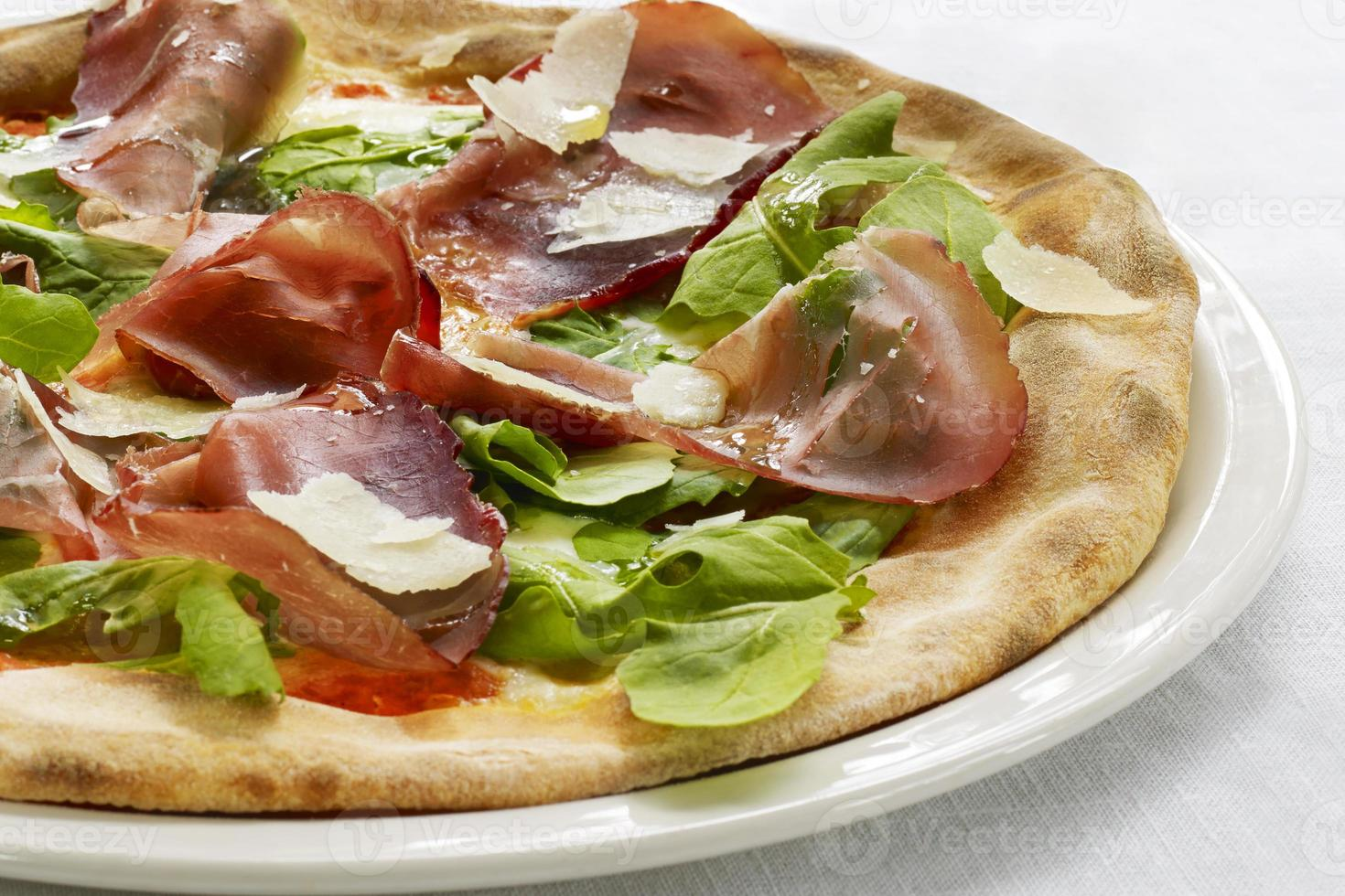pizza bresaola foto