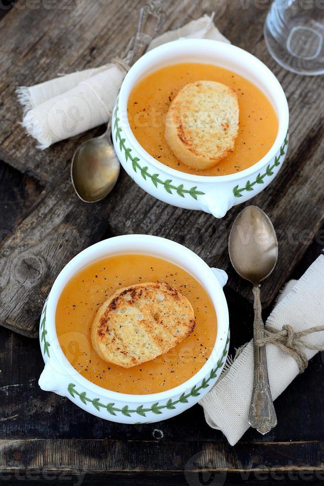 Pea soup photo