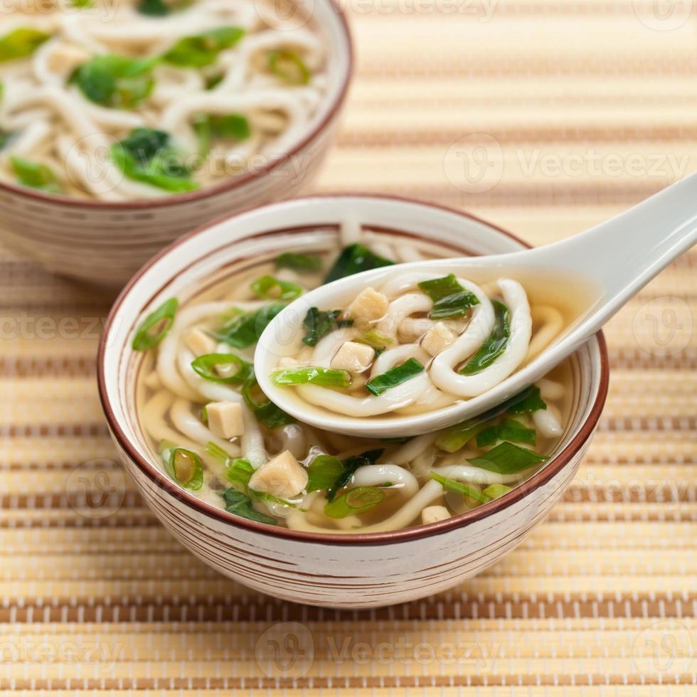 sopa de miso foto