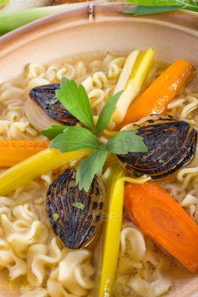 Noodle soup photo