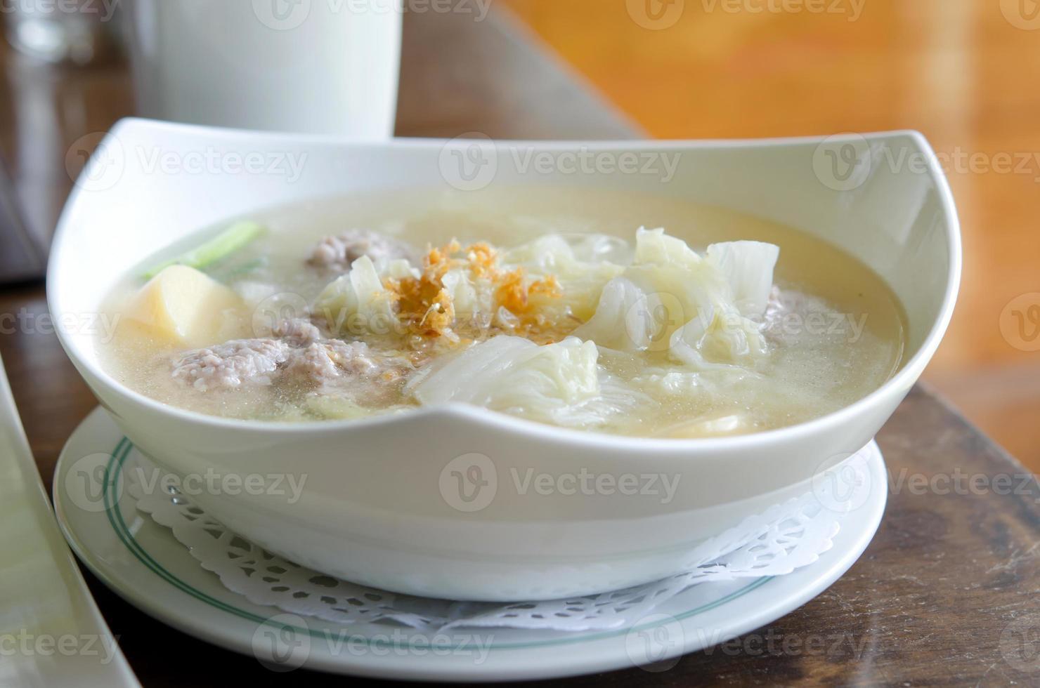clear soup photo
