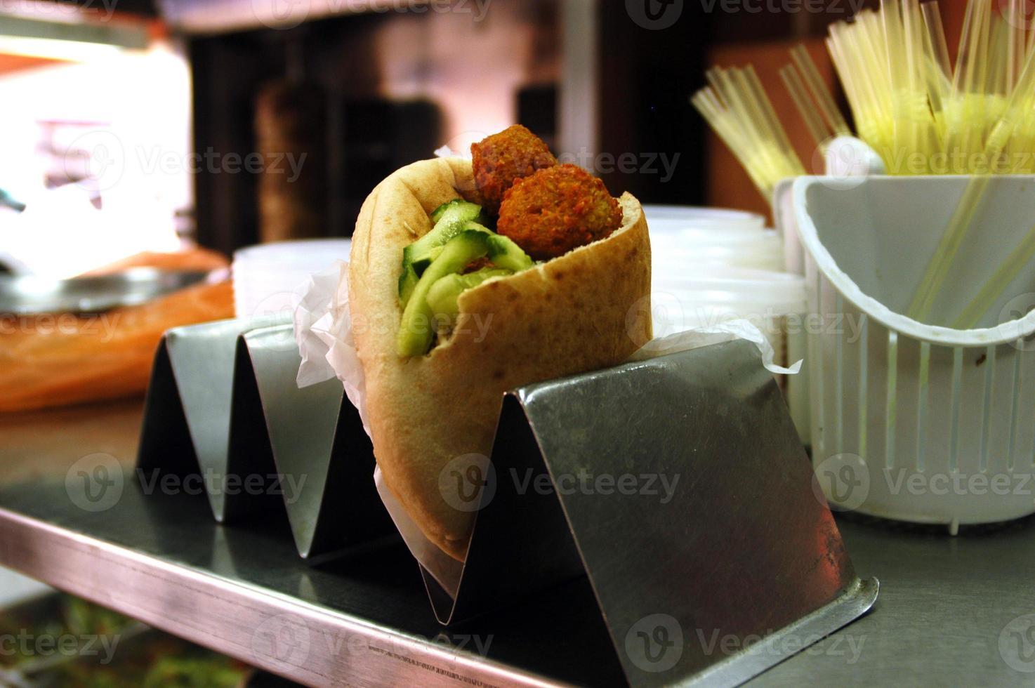 comida y cocina - falafel foto