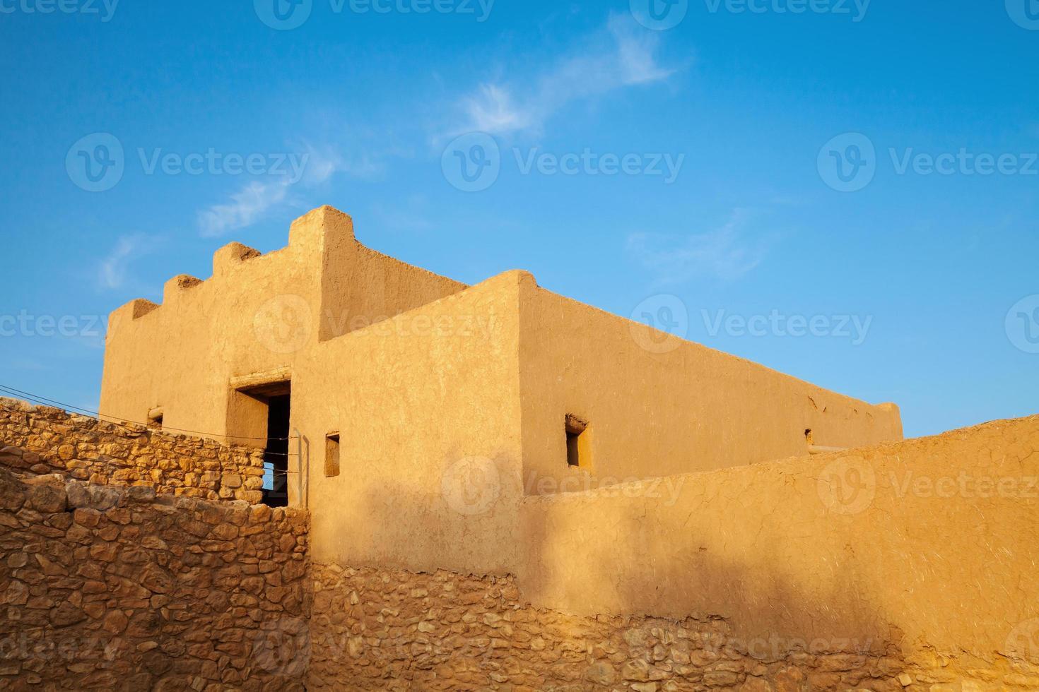 Ciudadela ibérica de la ciudad de Calafell. antigua fortaleza, españa foto