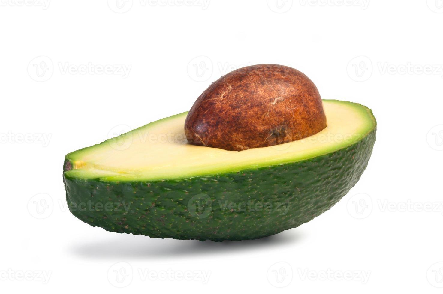 Half avocado photo