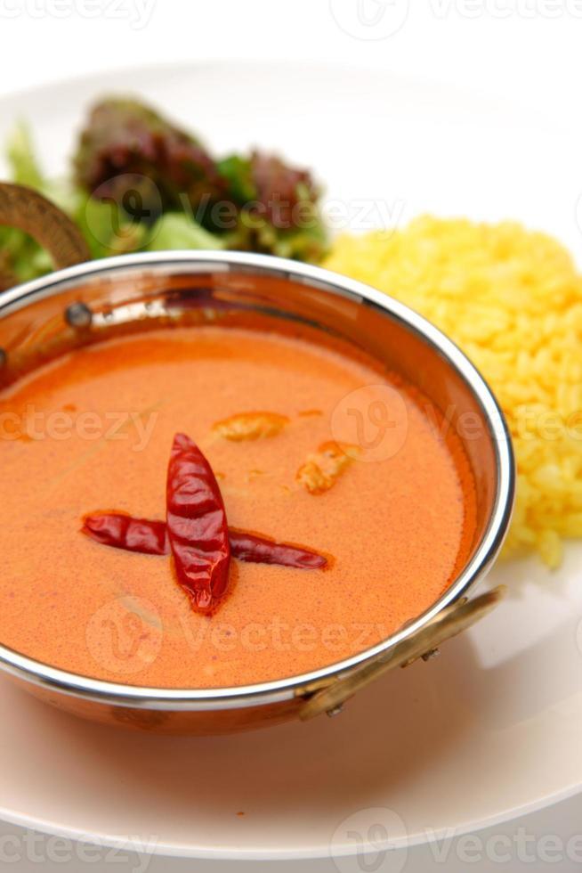 curry rojo tailandés foto