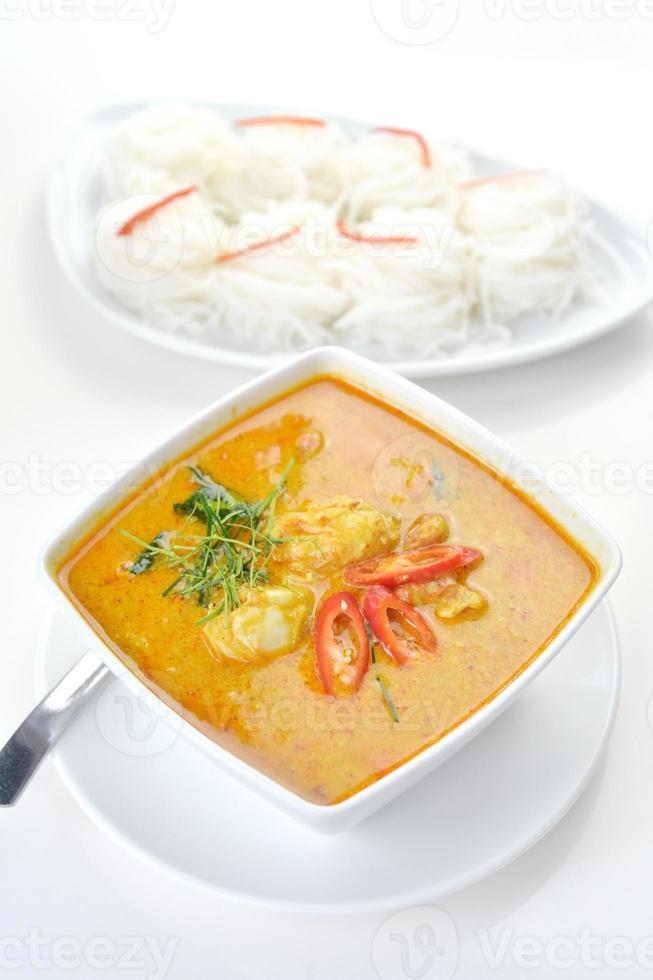carne de cangrejo al curry foto