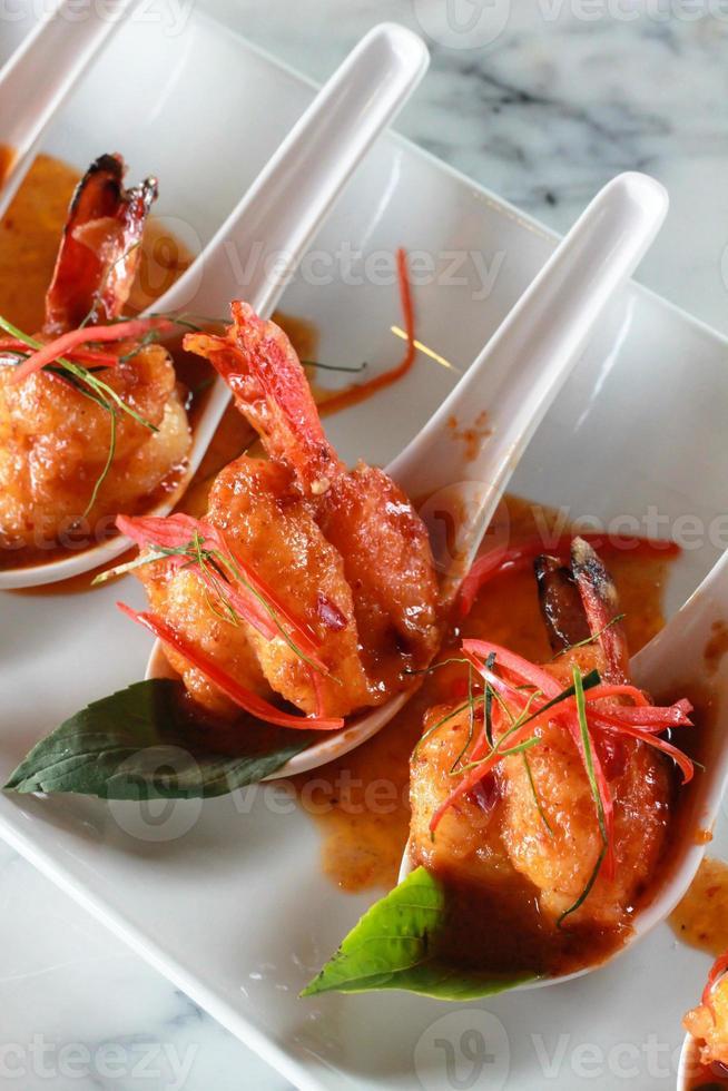comidas tailandesas foto
