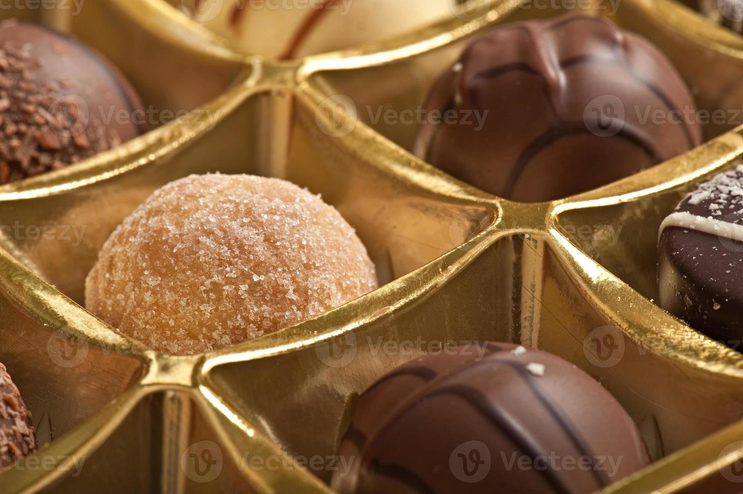 chocolates rellenos foto