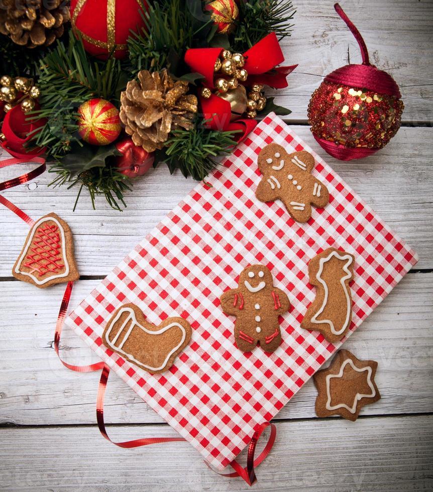 cocineros de navidad foto