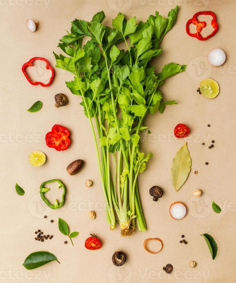 Vegetables for cooking. photo
