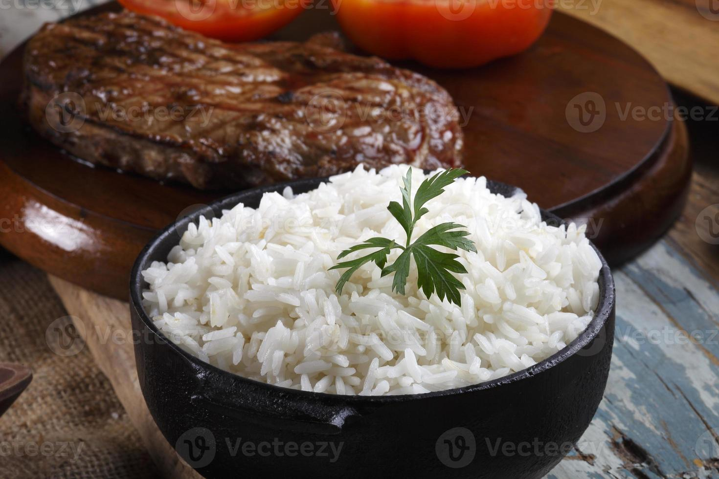 cooked rice photo