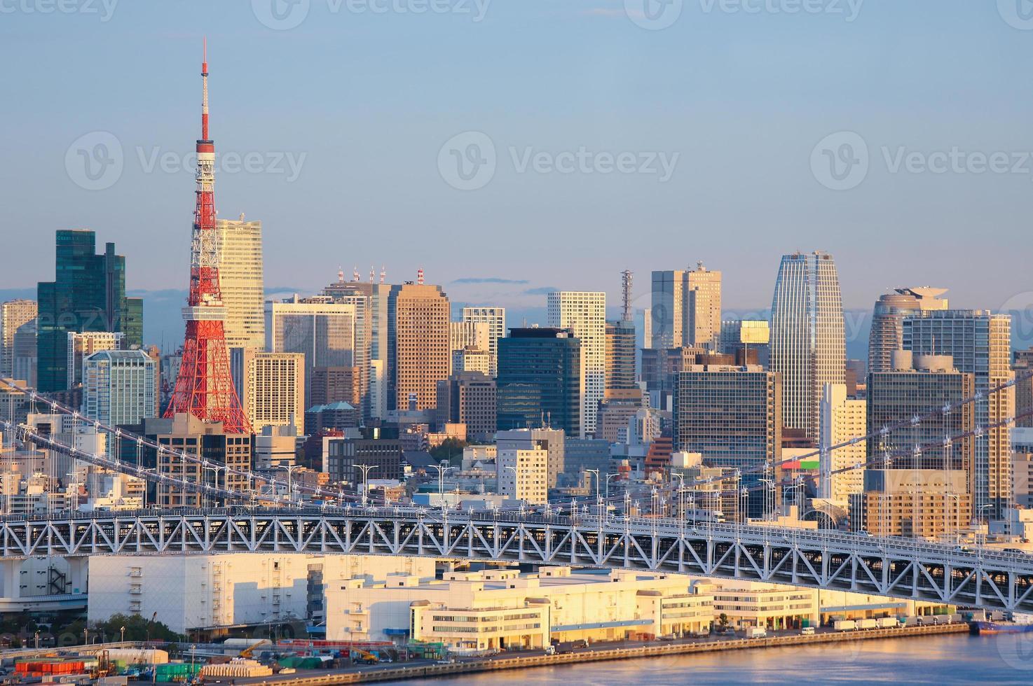 horizonte de tokio foto
