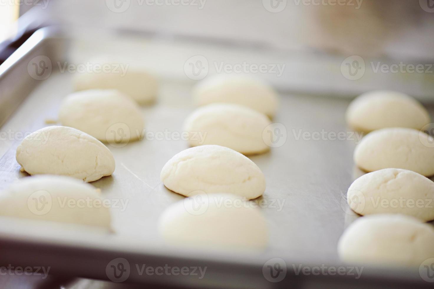 galletas de azúcar al horno foto