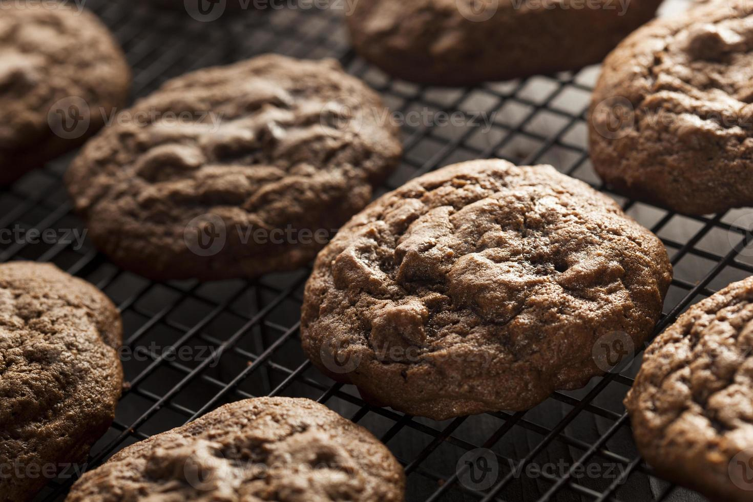 Homemade Double Chocolate Chip Cookies photo