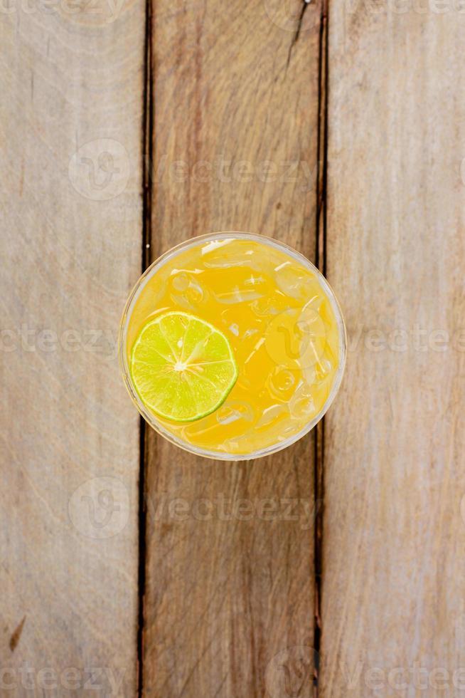 jugo de naranja sin fondo foto