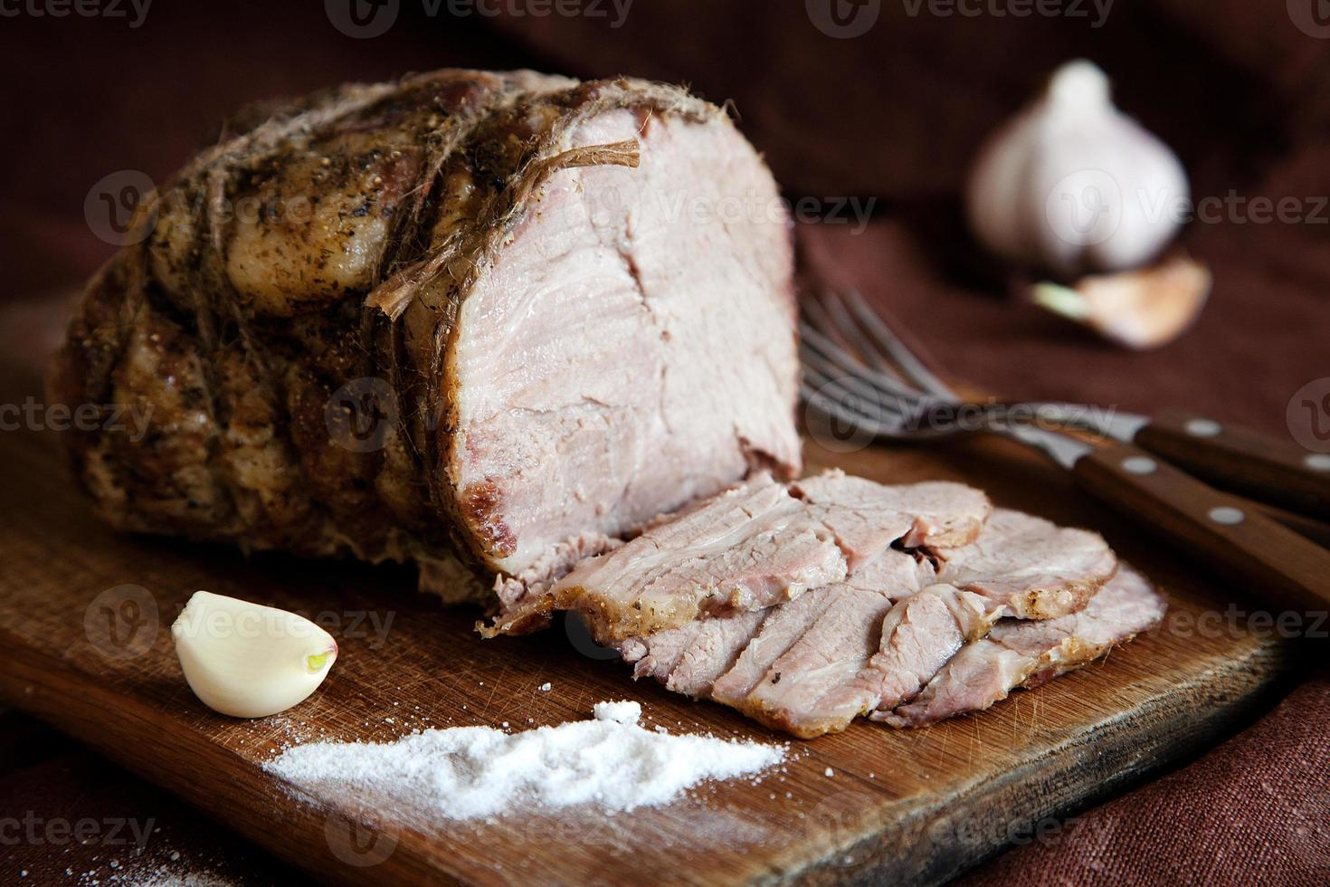 carne al horno foto