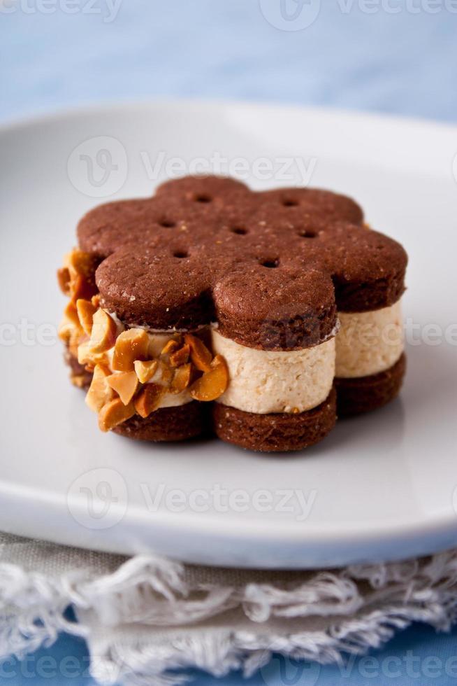 sándwiches de helado foto