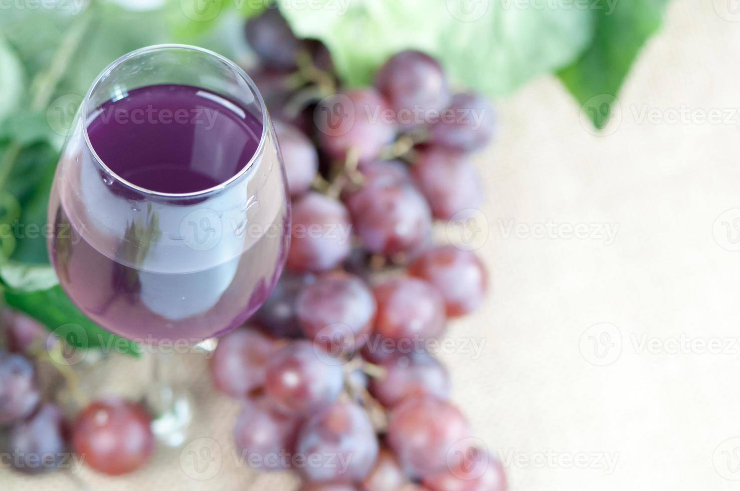 jugo de uva foto