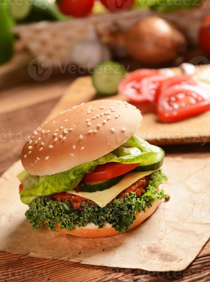 Hamburgers photo