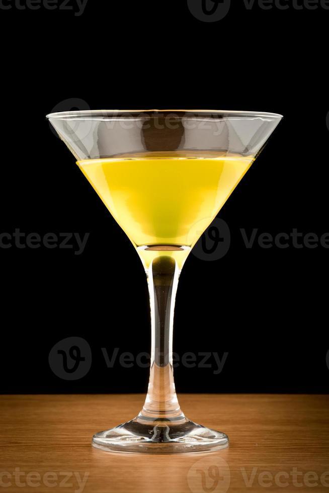 martini de limón foto