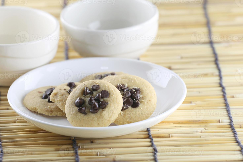 chocolate chip cookies. photo